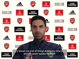 VIDEO: Mikel Arteta discusses David Luiz's Arsenal situation. DUGOUT