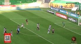 Flamengo derrotou o Fluminense por 2 a 1 com gols de Pedro e Michael. DUGOUT