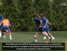 Lampard ringrazia Jorginho. Dugout