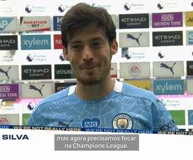 David Silva se despede da Premier League. DUGOUT