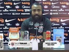 Corinthians de Dyego se prepara para enfrentar o Atlético-GO nessa quarta-feira. DUGOUT