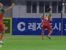 Tutti i gol del 25esimo turno della K League. Dugout