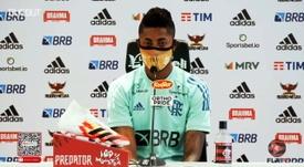 Bruno Henrique não quer contar vitória antes do tempo. DUGOUT