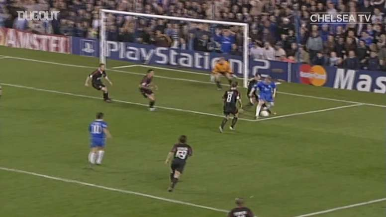 Frank Lampard scored a stunner in Chelsea's 4-2 victory over Bayern. DUGOUT