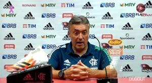 Dome pediu foco na Copa do Brasil. DUGOUT