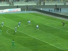 Benhalib scored for Raja. DUGOUT