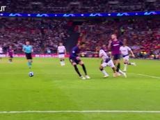 Lenglet au Barça. Dugout