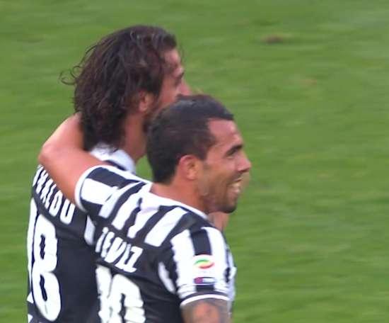 La rete di Osvaldo regalò la vittoria alla Juve. Dugout