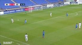 Ulsan's Junior Negao scored three against basement boys Incheon. DUGOUT
