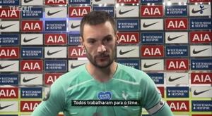 Lloris lamenta temporada irregular do Tottenham. DUGOUT