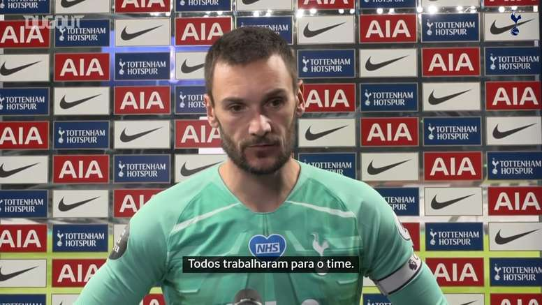 Lloris lamenta temporada irregular do Tottenham. DUGOUT