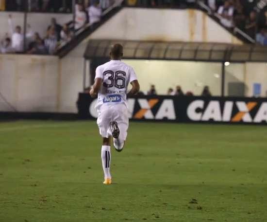 Sanchez e Copete brilhando no Santos. DUGOUT