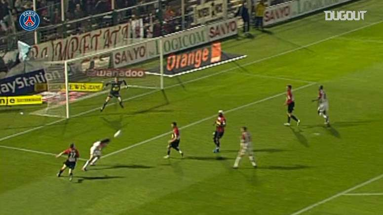 PSG have scored some nice goals v Nice over the years. DUGOUT