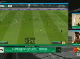 Club América played Nexaca at eSports. DUGOUT