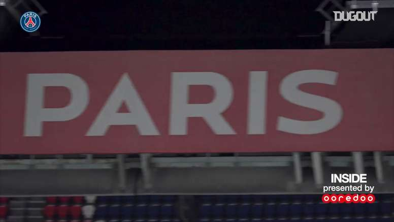 Les meilleurs moments de Paris Saint-Germain - Bordeaux. dugout