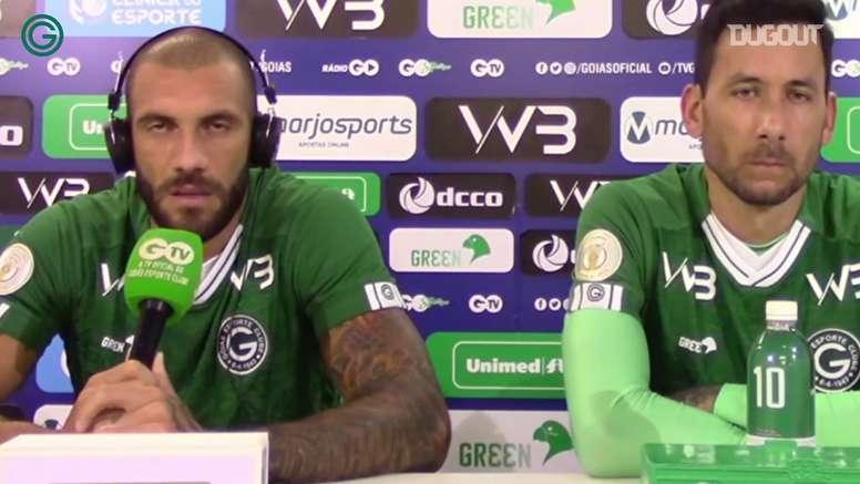 Fernandão fala de disputa por posição no time. DUGOUT