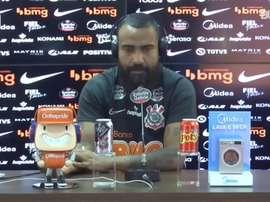 Corinthians se prepara para enfrentar o Atlético-GO nessa quarta-feira. DUGOUT