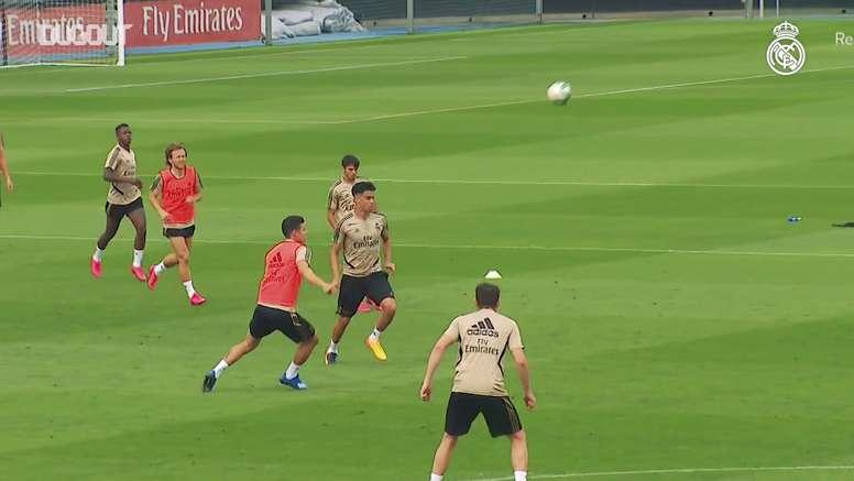 Le prime partitelle del Real Madrid. Dugout