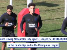 Jadon Sancho has become a world class player in the last few years. DUGOUT