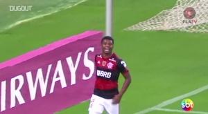 Flamengo won 4-0. DUGOUT