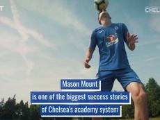Mason Mount's rise through Chelsea's ranks. DUGOUT
