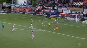 Fortuna Sittard face Emmen in an Eredivisie clash on Sunday. DUGOUT