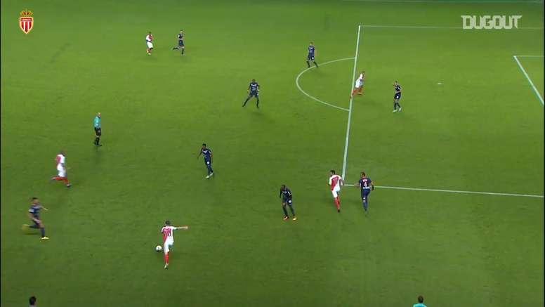 TOP 5 buts Monaco vs Montpellier. dugout