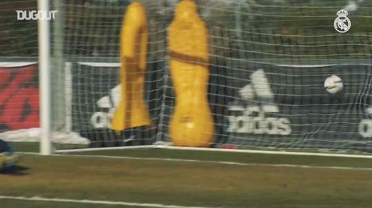 Preparation for the first match of Copa del Rey. DUGOUT