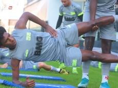 Vasco treina à espera do Campeonato Brasileiro. DUGOUT