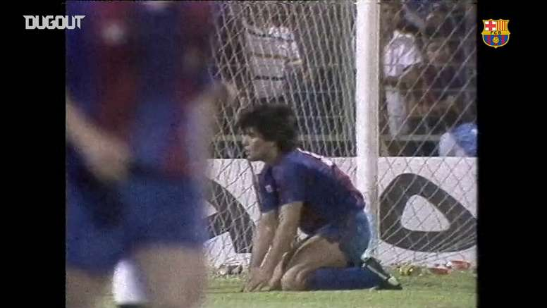 Barcelona won their 20th Copa del Rey back in 1983. DUGOUT