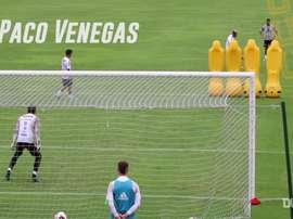Tigres' free-kick challenge. DUGOUT