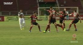 Golaço de Lucas Paquetá contra o Madureira. DUGOUT