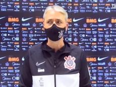 Treinador do Corinthians ressalta desempenho de Éderson. DUGOUT