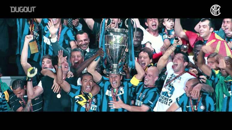 Inter Milan won the treble in 2009-10 including the Champions League. DUGOUT