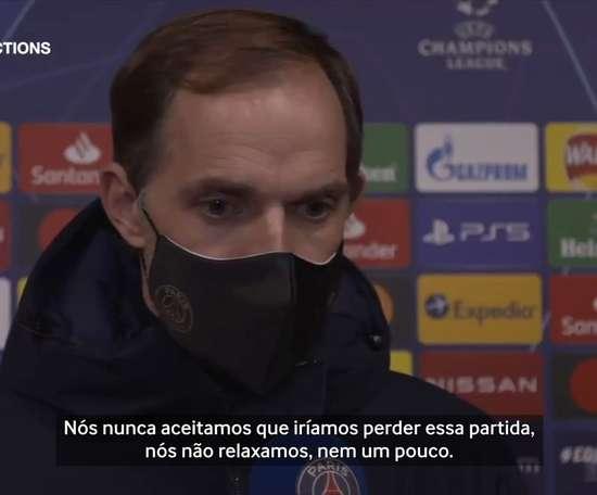 Thomas Tuchel pede cautela ao PSG após vitória na Champions League. DUGOUT