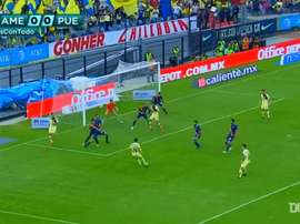Club America got a late winner over Puebla in the 2019 Clausura. DUGOUT
