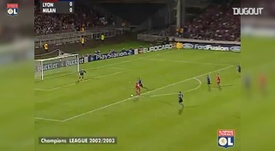 Le but collectif superbe de Lyon contre l'Inter en 2002. DUGOUT