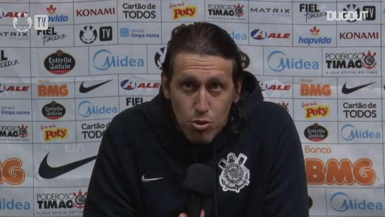 Cássio falou sobre gol perdido. DUGOUT