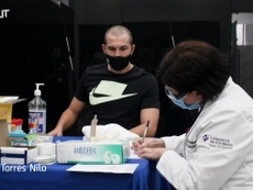Tigres players donate plasma. DUGOUT