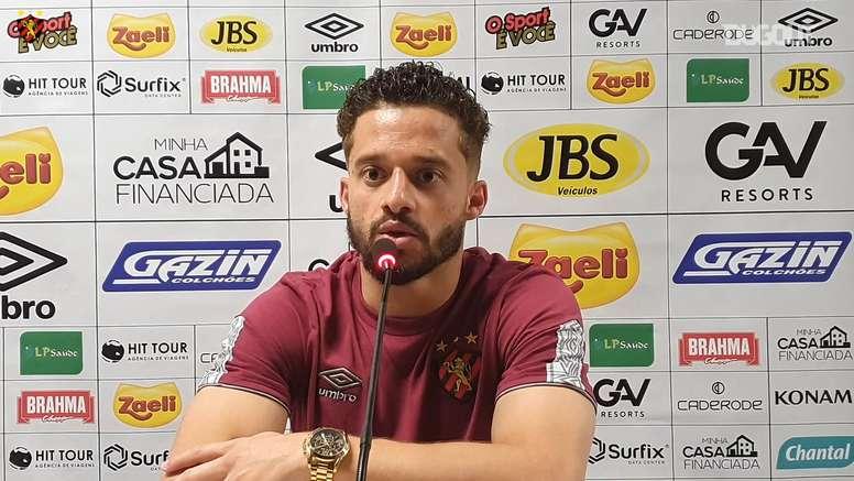 Lucas Venuto analisa estreia pelo Sport. DUGOUT