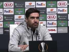 Abel Ferreira desconversou sobre uma possível saída do clube grego. DUGOUT