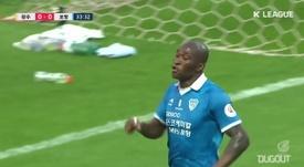 Gols da 9ª rodada da K-League de 2020. DUGOUT