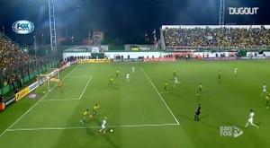 Santos' Libertadores 2020 goals so far. DUGOUT