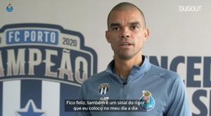 Pepe vive sua sexta temporada no Porto. DUGOUT