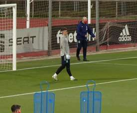 Great saves by Kepa in training. DUGOUT