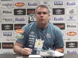 Orlando Rollo vê Santos prejudicado em derrota para o Fluminense. DUGOUT