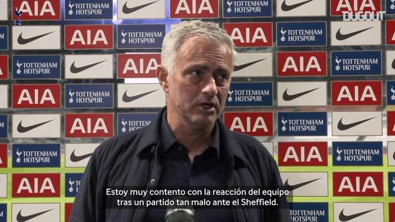 José Mourinho ya es bicentenario en triunfos. Dugout