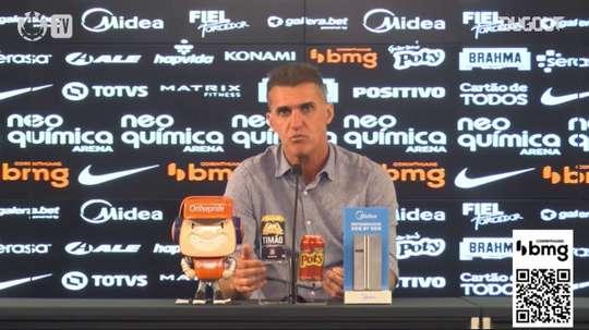 Vagner Mancini concedeu entrevista após a vitória sobre o Sport. DUGOUT