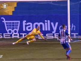 Jose Juan was key in Alcoyano's shock victory over Real Madrid. DUGOUT