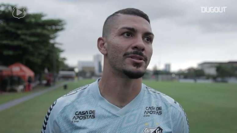 Alison fala em momento especial mais da carreira para jogo contra o Boca Juniors. DUGOUT